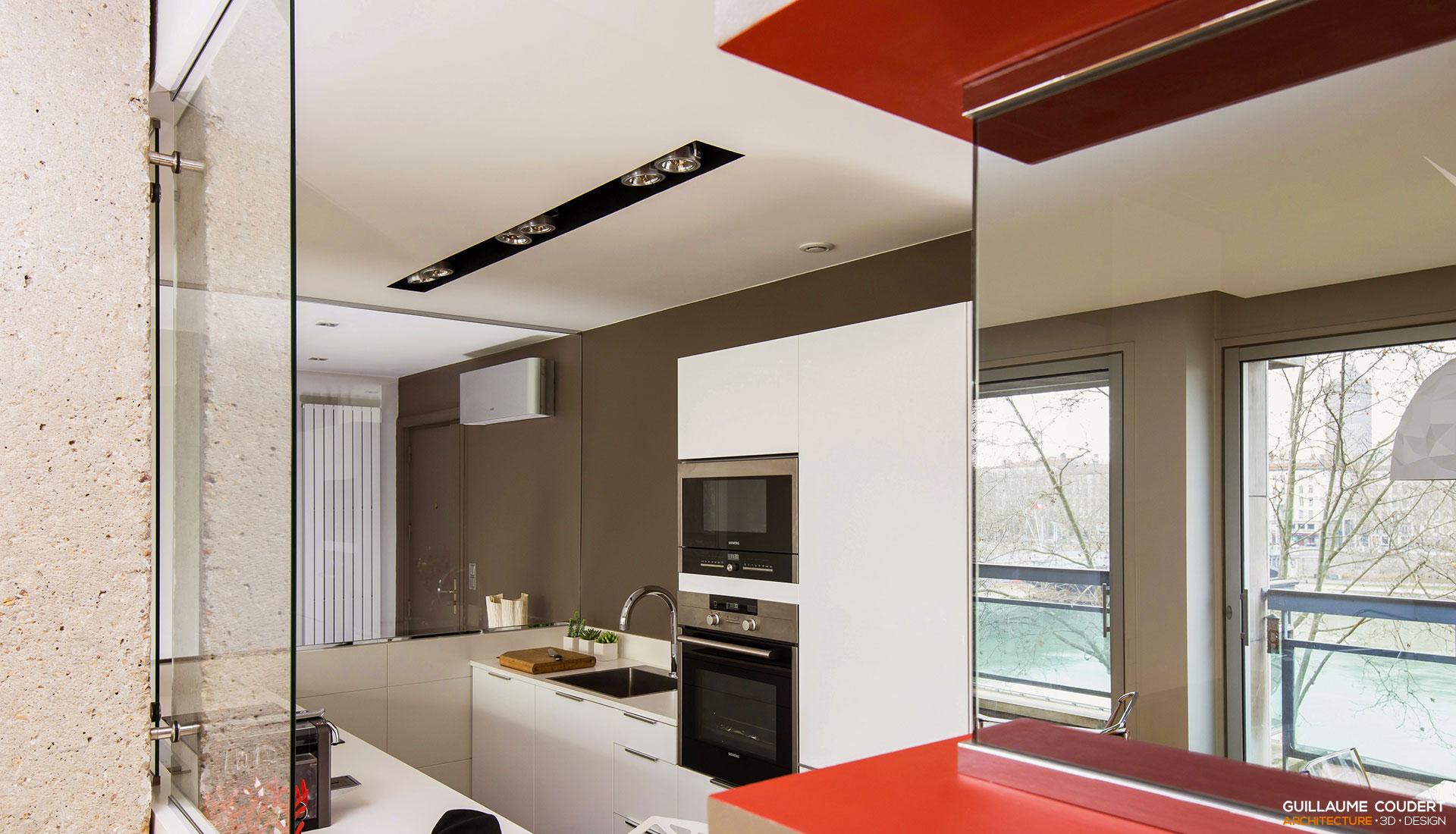 Guillaume coudert architecture d 39 int rieur architecture for Appartement design lyon
