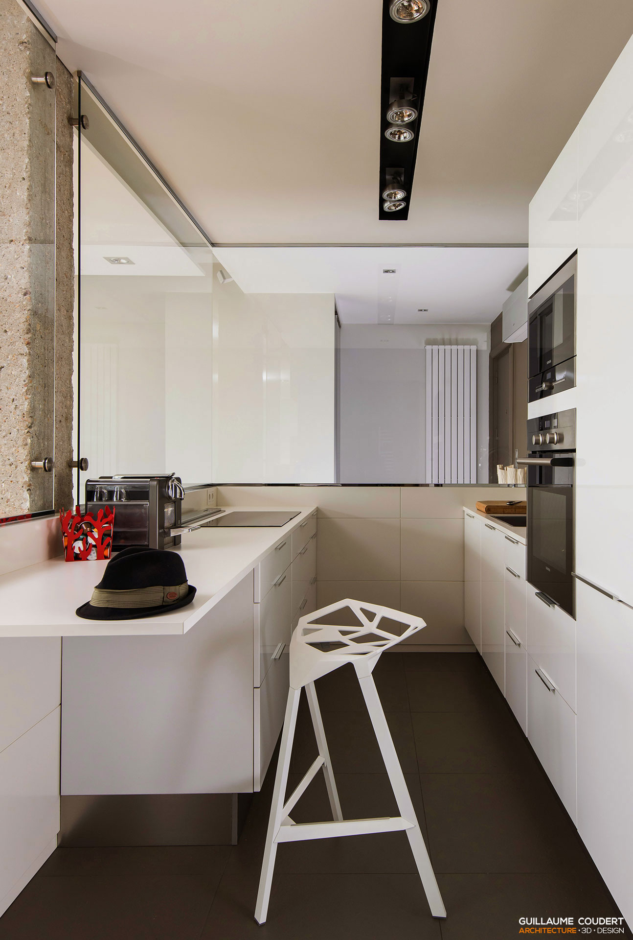 Appartement cp01 lyon 69002 2 guillaume coudert for Appartement design 2014
