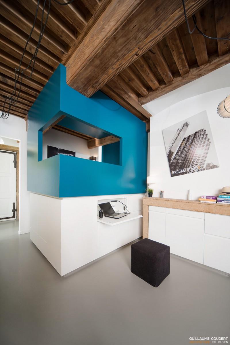 studio su02 lyon 69001 guillaume coudert architecture d 39 int rieur. Black Bedroom Furniture Sets. Home Design Ideas