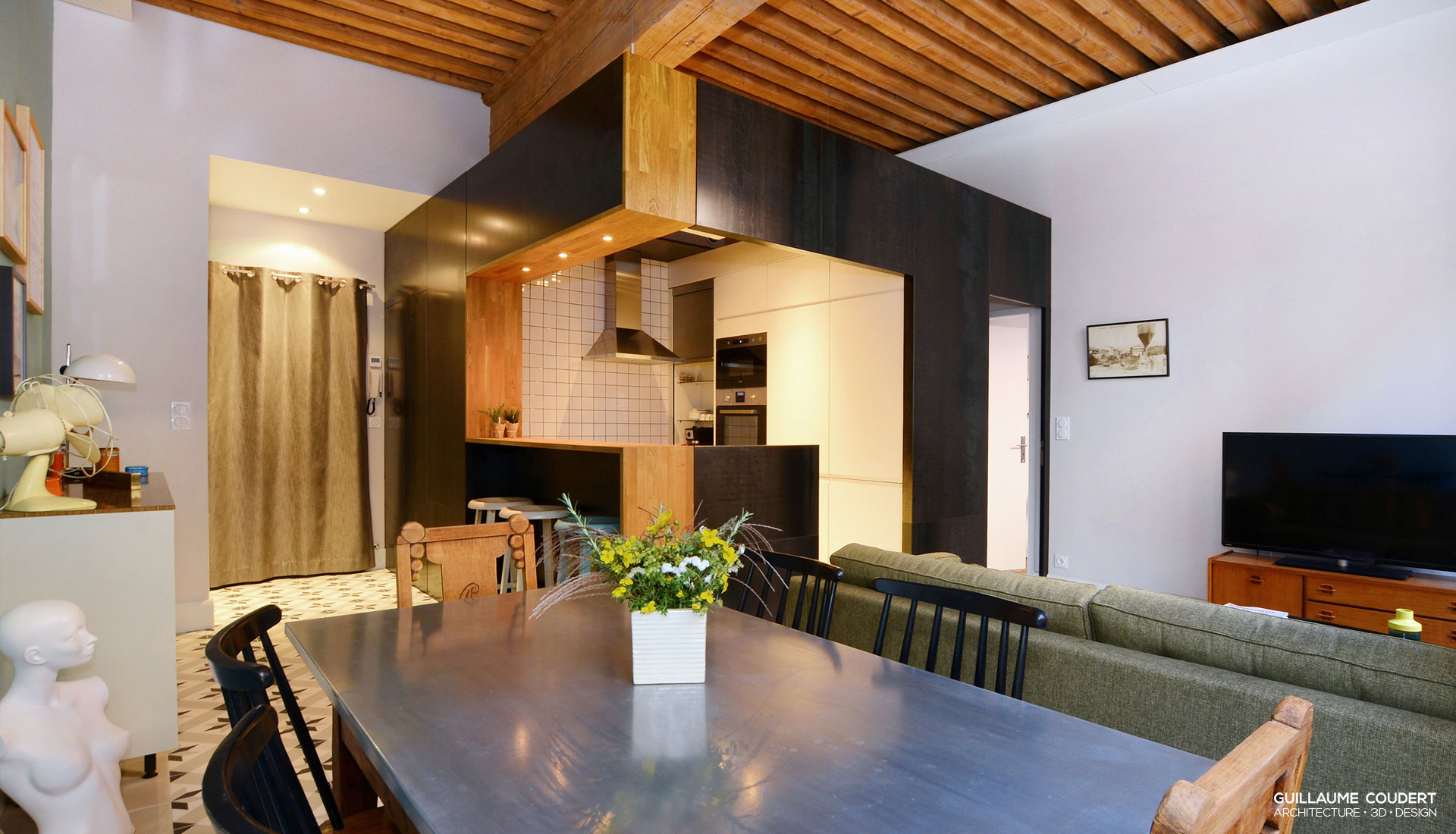 guillaume coudert architecture d 39 int rieur architecture 3d design. Black Bedroom Furniture Sets. Home Design Ideas