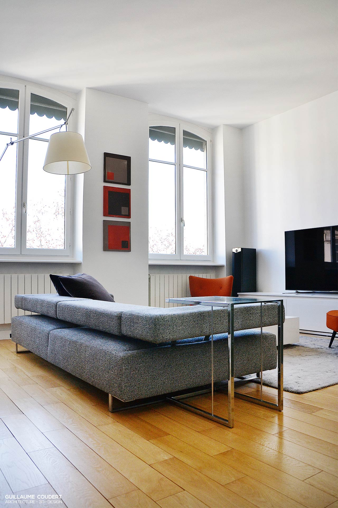 appartement gag01 lyon 69002 guillaume coudert. Black Bedroom Furniture Sets. Home Design Ideas