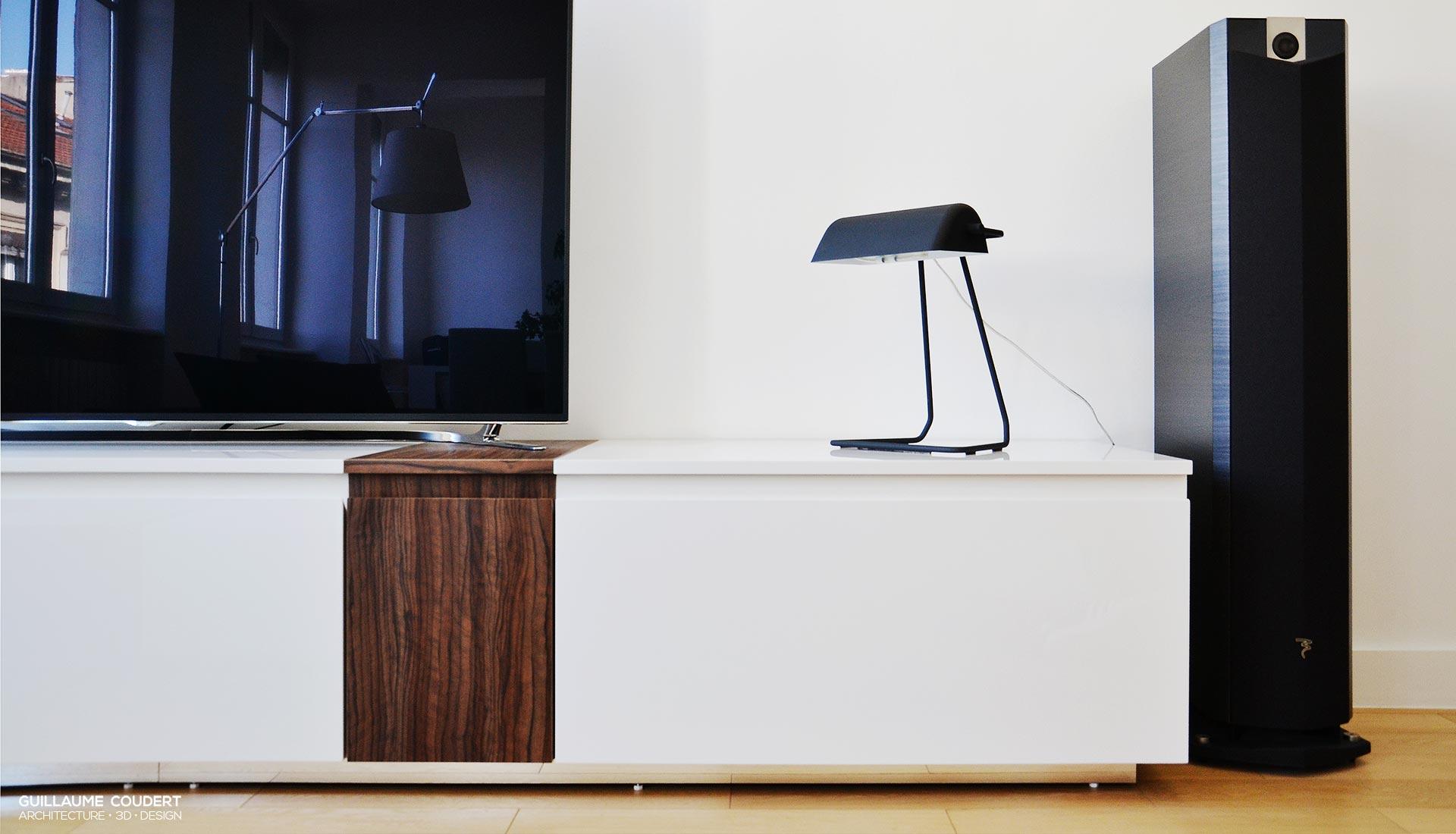 Meuble Tv Guillaume Coudert Architecture D Int Rieur # Meuble Tv Lyon
