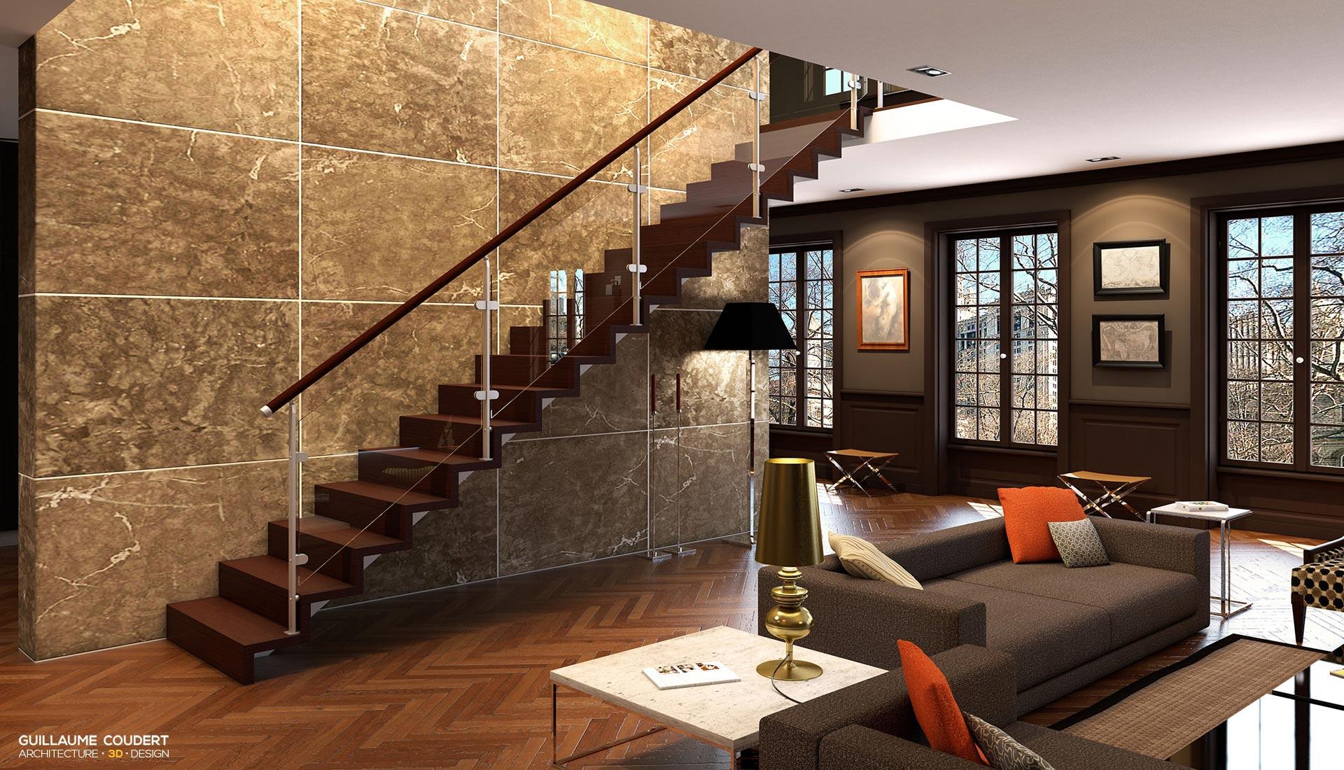Plasse visuels 2015 1 guillaume coudert architecture d 39 int rieur - Escalier plasse prix ...