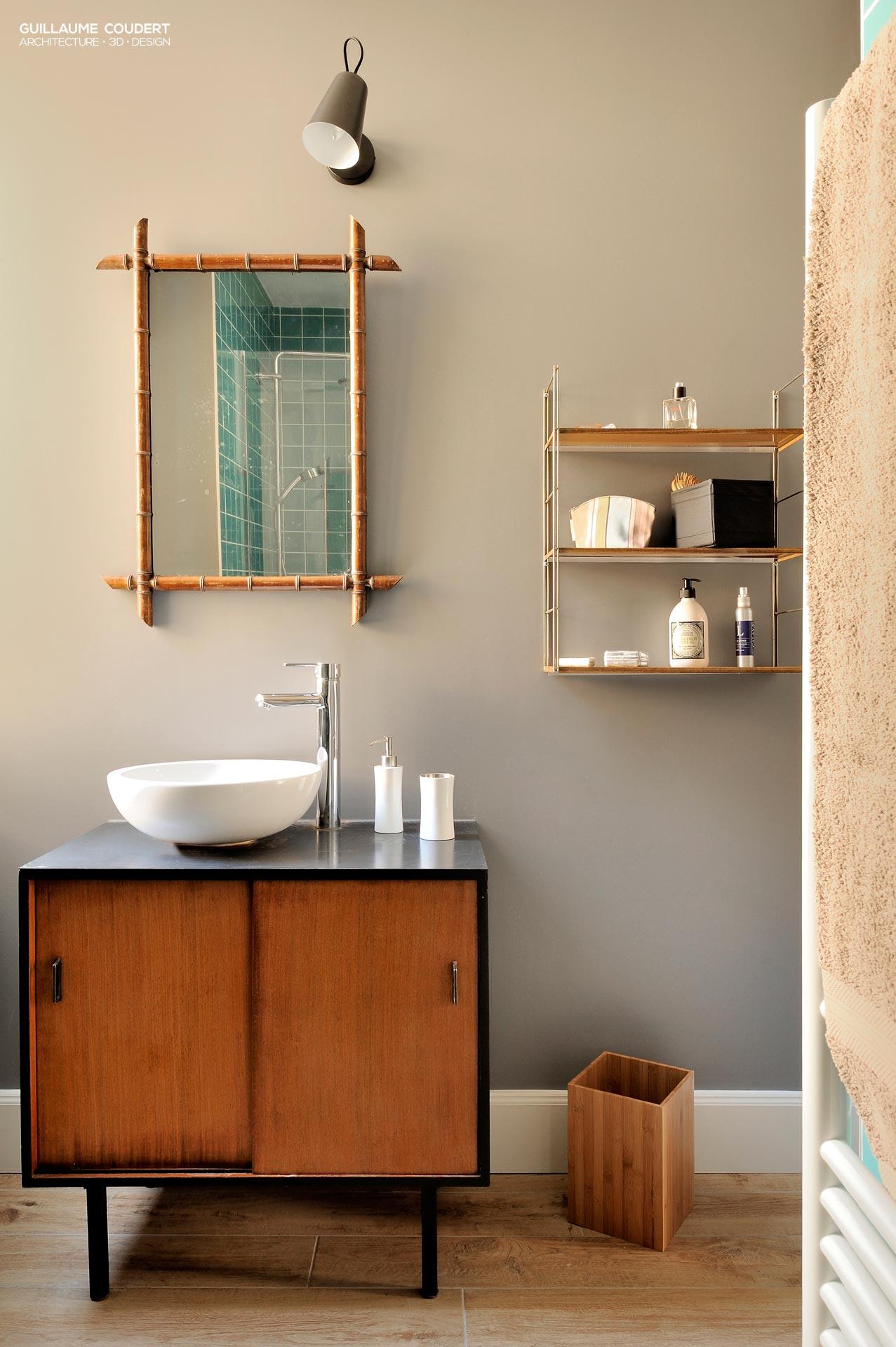 Appartement su04 reportage domodeco guillaume coudert for Renovation salle de bain lyon