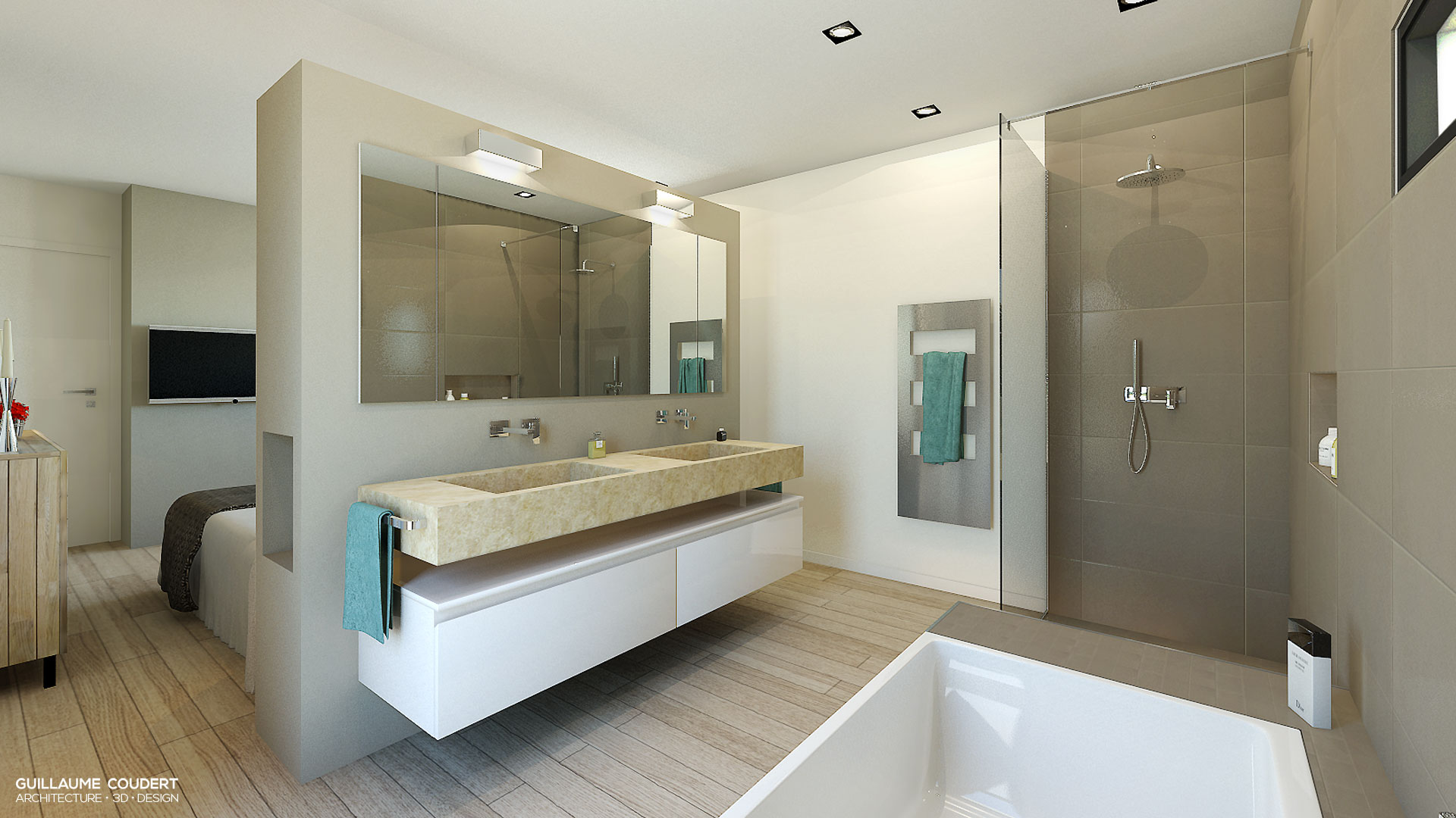 Architecte interieur salle de bain architecte d 39 int for Architecte interieur salle de bain
