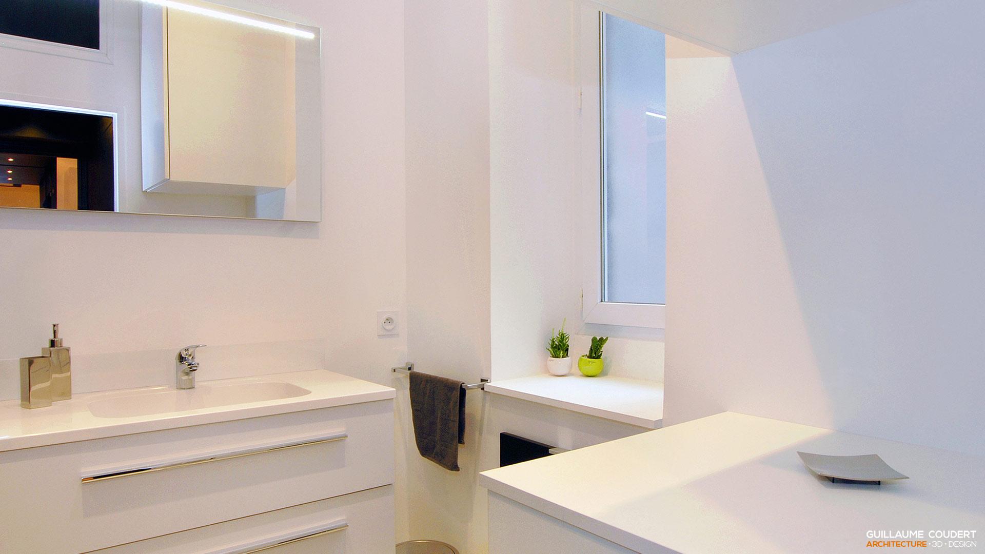 Appartement su03 lyon 69002 guillaume coudert for Budget salle de bain