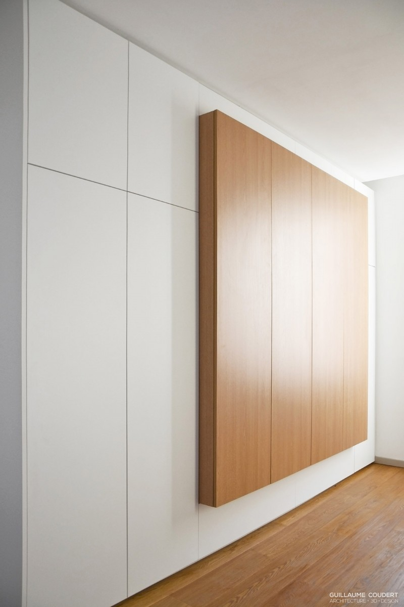 Chambre to01 lyon 69007 guillaume coudert architecture d 39 int rieur for Comdressing sur mesure lyon