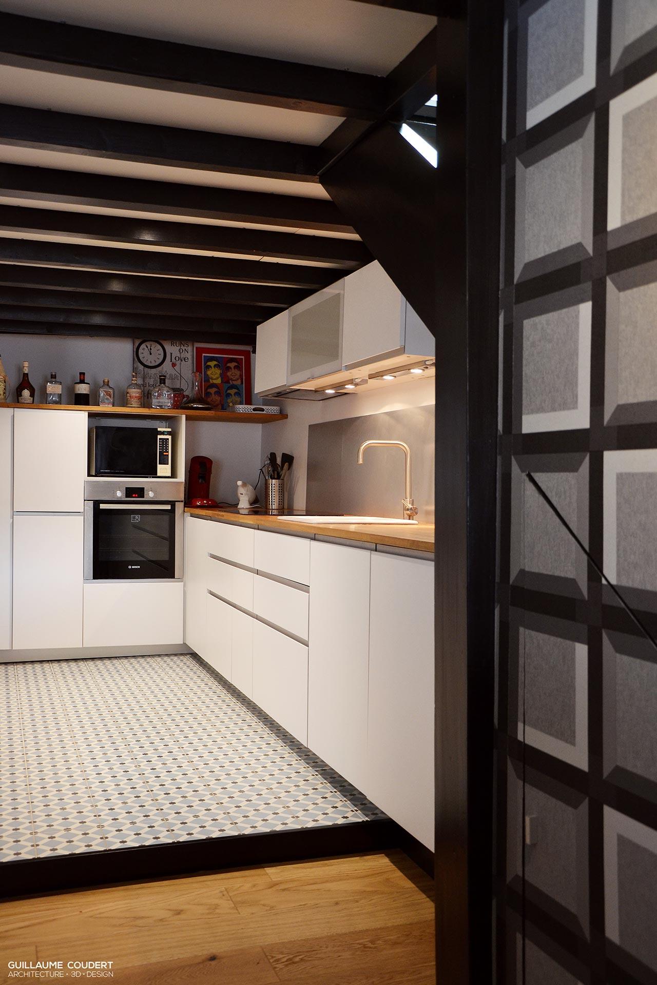 Appartement sar01 macon 71000 guillaume coudert - Cuisine sur mesure paris ...