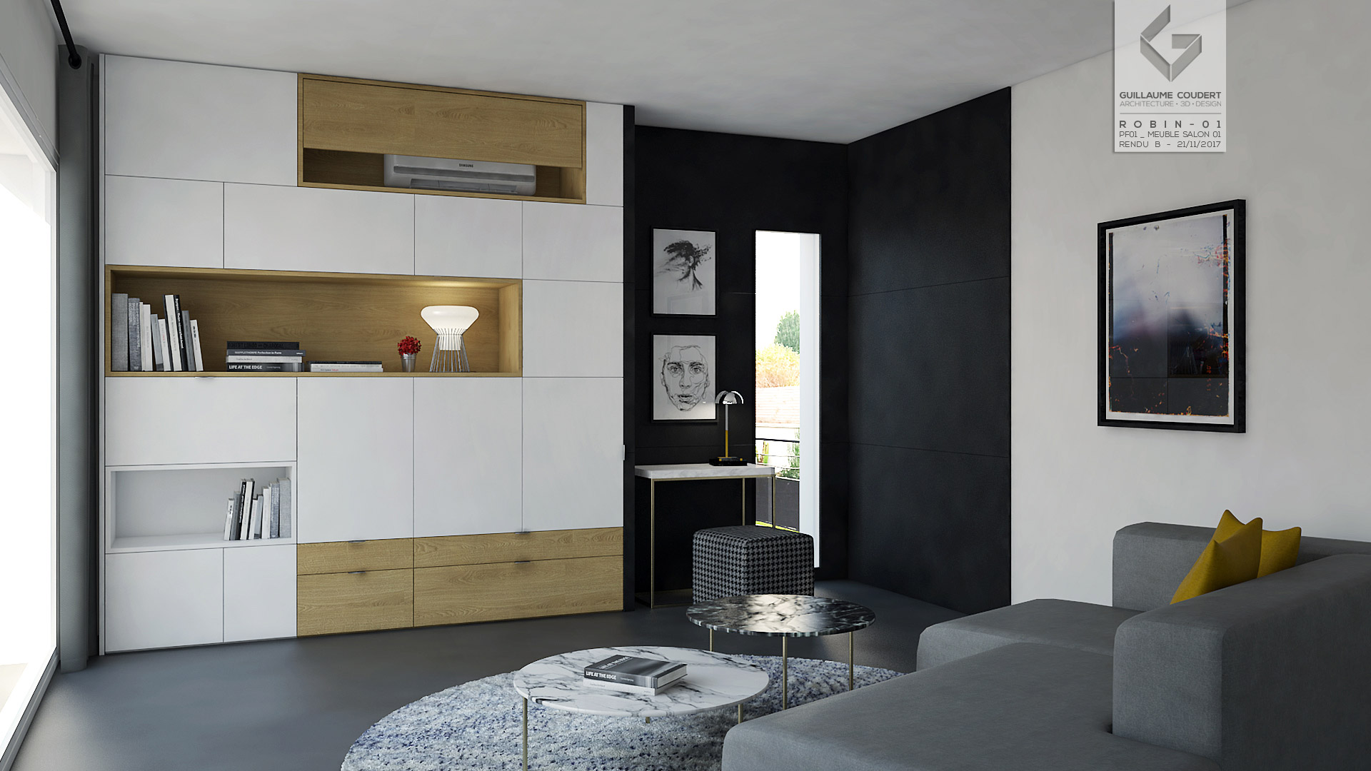 guillaume coudert architecture d 39 int rieur architecture 3d design. Black Bedroom Furniture Sets. Home Design Ideas