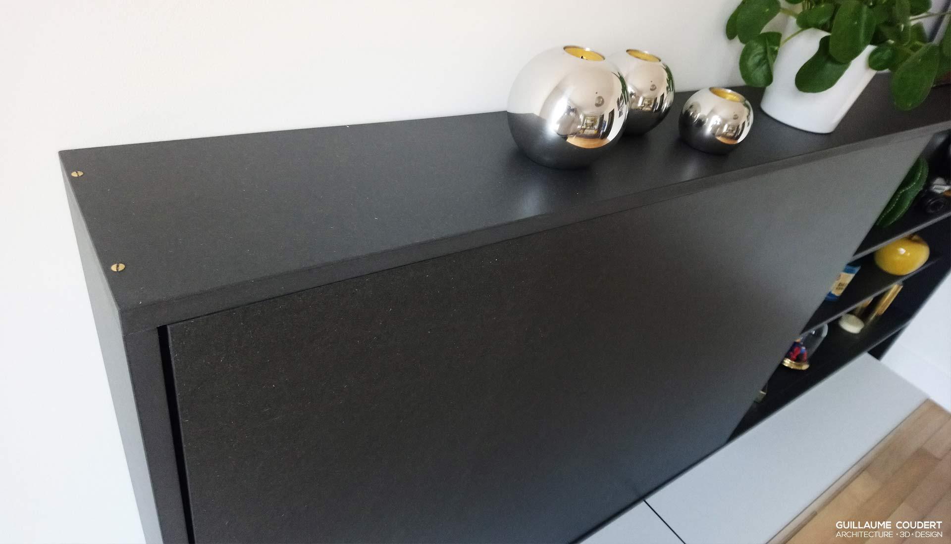 meuble tv guillaume coudert architecture d 39 int rieur. Black Bedroom Furniture Sets. Home Design Ideas